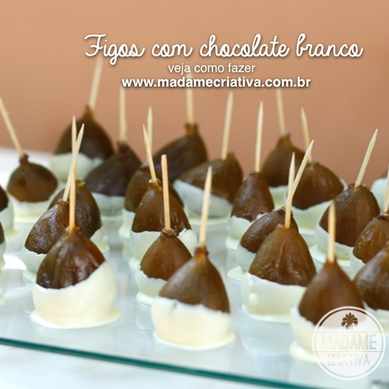 how to prepare figs in syrup covered in chocolate - Como fazer Figo em calda com chocolate#