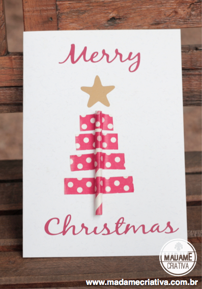 Cute Christmas cards using Silhouette Portrait machine - DIY ideas - Ideias de cartão de Natal - Scrapbooking