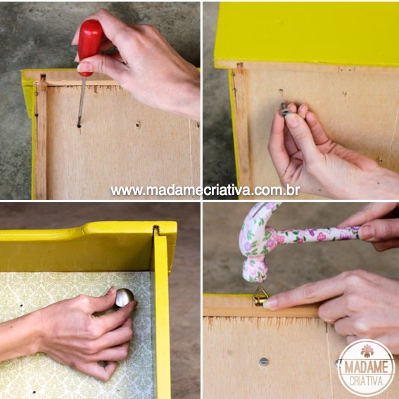 Clever idea to organize the jewelry and sunglasses repurposing a drawer. Easy DIY photo tutorial. - Organizador de jóias e bijuterias usando gaveta! #diy #organize #recycle