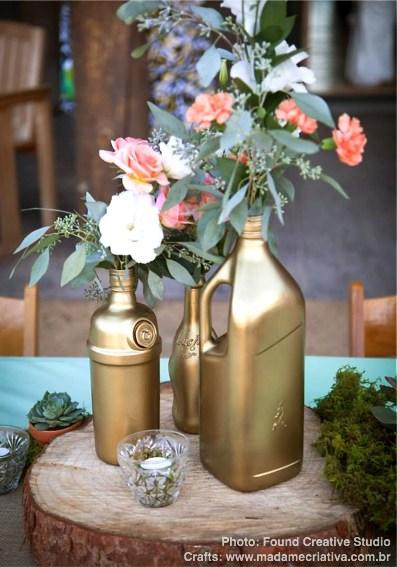 decoracao casamento garrafas de vidro:Últimos posts – Blog Madame Criativa – Madame Criativa – Decoração